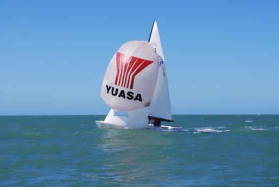 El barco «Charrán III» del Equipo Yuasa, podium en el Campeonato Ibérico