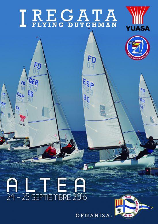 Yuasa Battery Iberia patrocina la primera regata Flying Dutchman en Altea