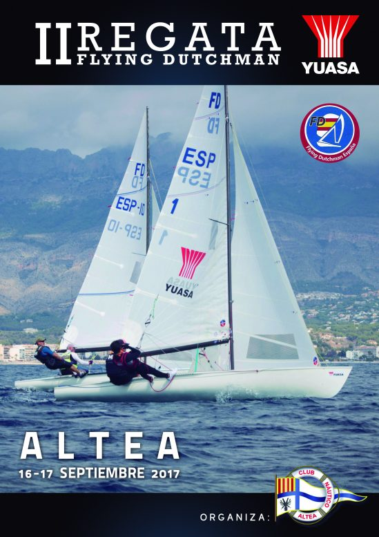 Yuasa Battery  patrocina II Regata Flying Dutchman