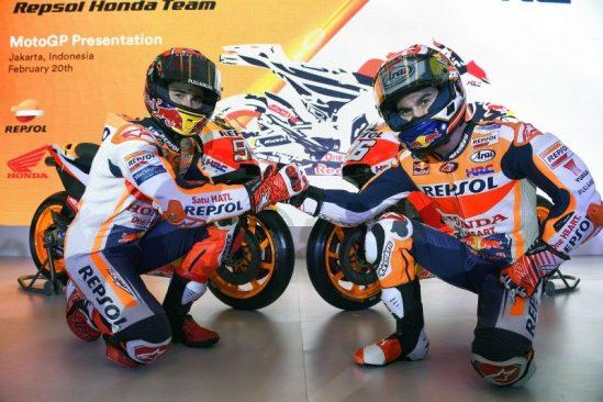 GS YUASA, líder mundial en fabricación de baterías para moto, renueva el patrocinio del equipo Honda HRC