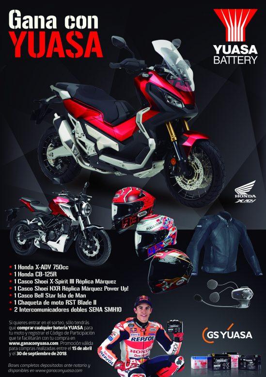 Yuasa Battery – Promoción Gana con Yuasa