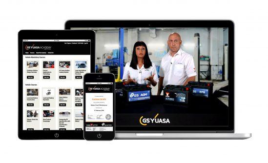 """El lanzamiento de la plataforma de cursos online """"GS Yuasa Academy"""" revolucionará el aprendizaje y compresión del funcionamiento de una batería"""
