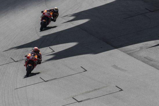 Marc Márquez y Jorge Lorenzo, en busca de la Triple Corona en Valencia