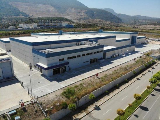 GS YUASA inicia las operaciones en la recién abierta Inci GS YUASA planta de baterías de plomo y ácido en Manisa, Turquía.