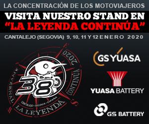 GS Yuasa en la «Leyenda Continua»