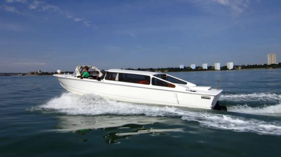 Las baterías de iones de litio GS Yuasa se montan en el proyecto los taxi acuático de Venecia