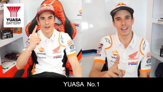 MotoGP™2020 | Entrevista exclusiva de Marc Márquez y Álex Márquez por el Grupo GS Yuasa