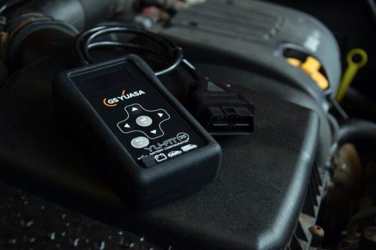 Nuevo y atrevido diseño para el renovado configurador de baterías Yu-Fit de GS Yuasa